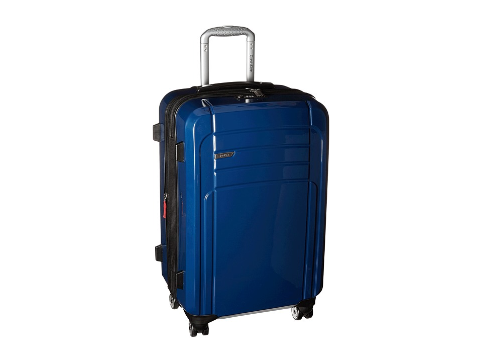 Calvin Klein - Rome 25 Upright Suitcase (Blue) Luggage