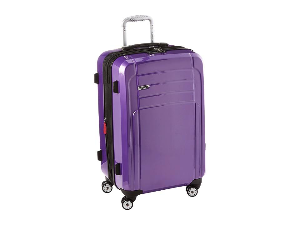 Calvin Klein - Rome 25 Upright Suitcase (Plum) Luggage