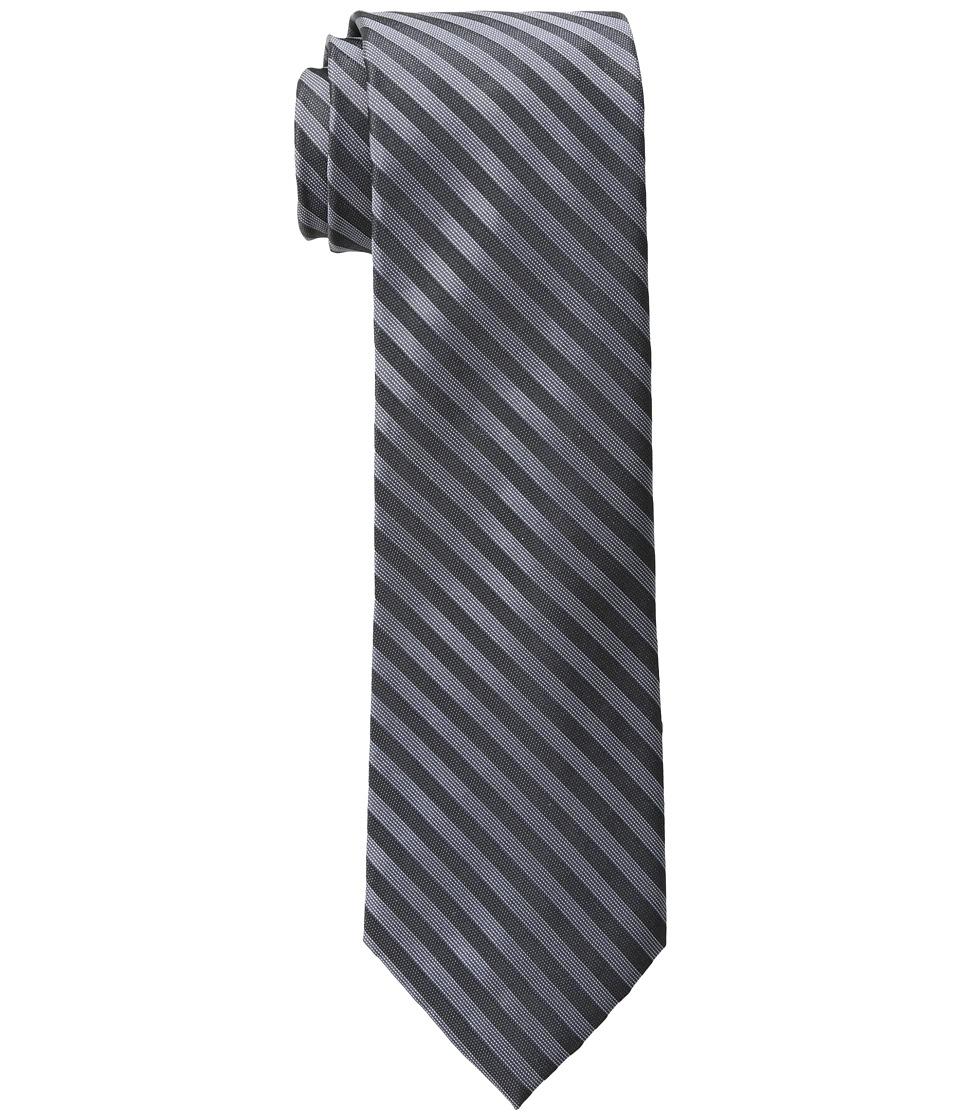 Calvin Klein - Satin Sheen Mini Bar (Black) Ties