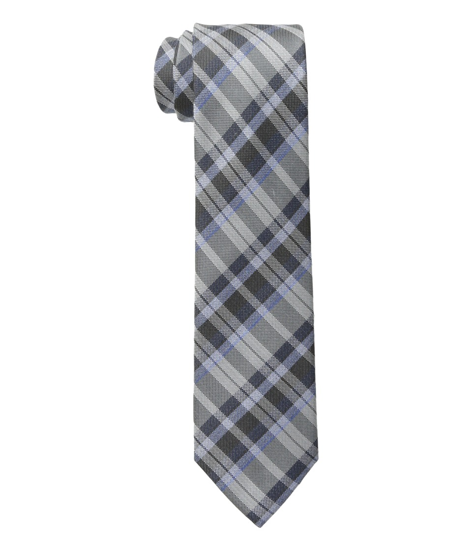 Calvin Klein - Schoolboy Oxford Plaid (Charcoal) Ties