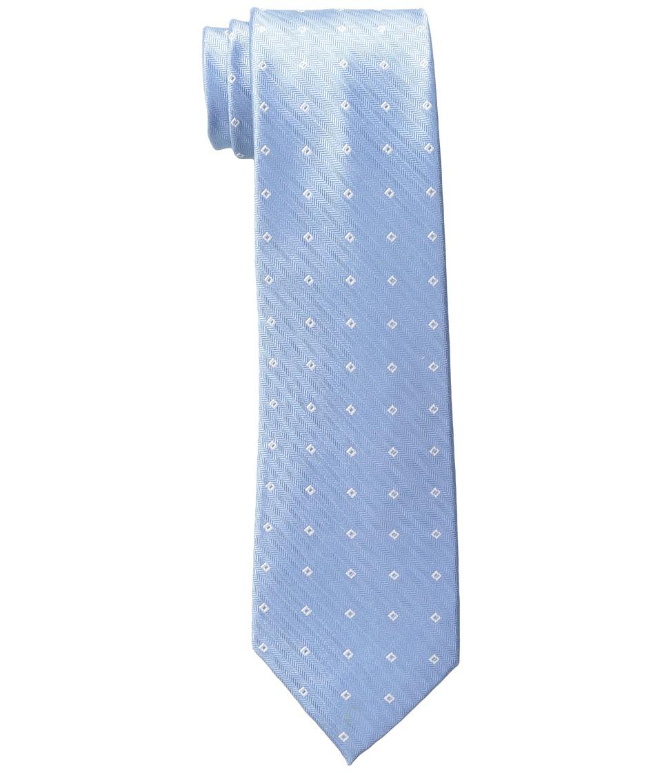 Calvin Klein - Texture Square Neat (Light Blue) Ties