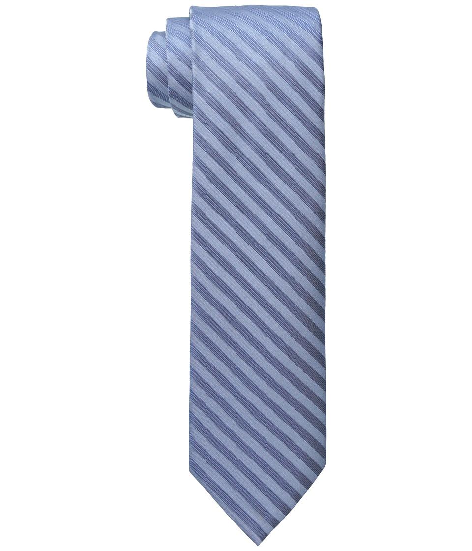 Calvin Klein - Satin Sheen Mini Bar (Ice Blue) Ties