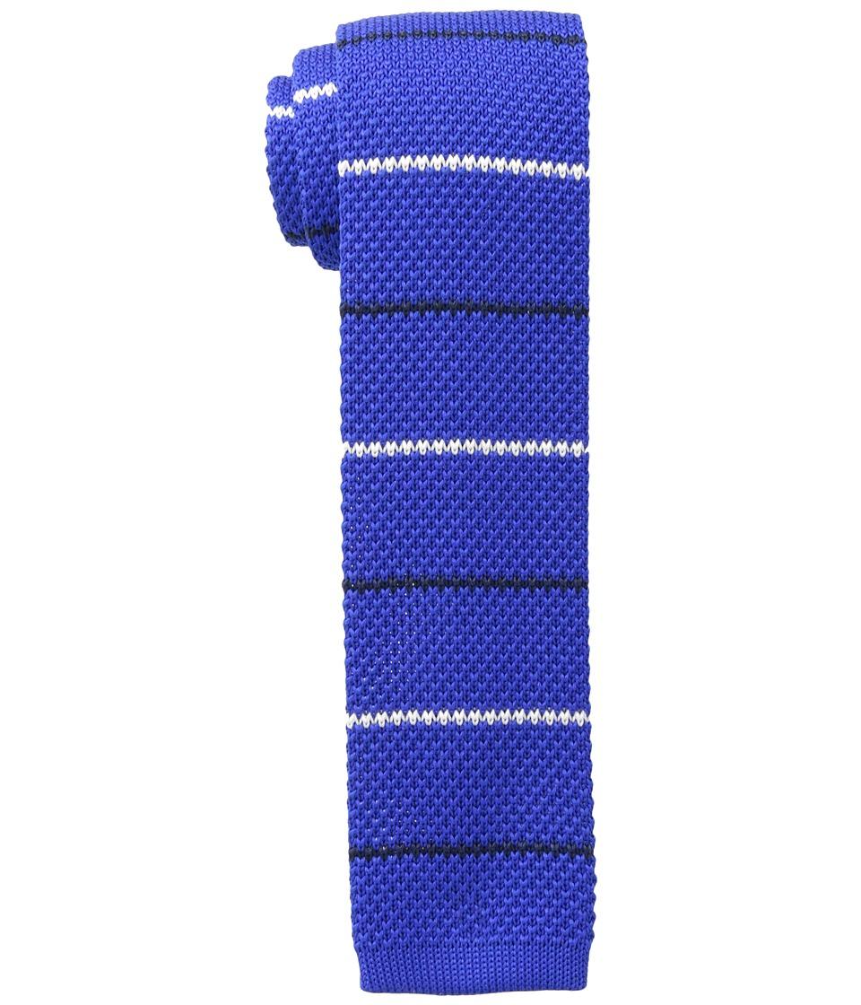 Tommy Hilfiger - Alternating Thin Stripe (Royal Blue) Ties