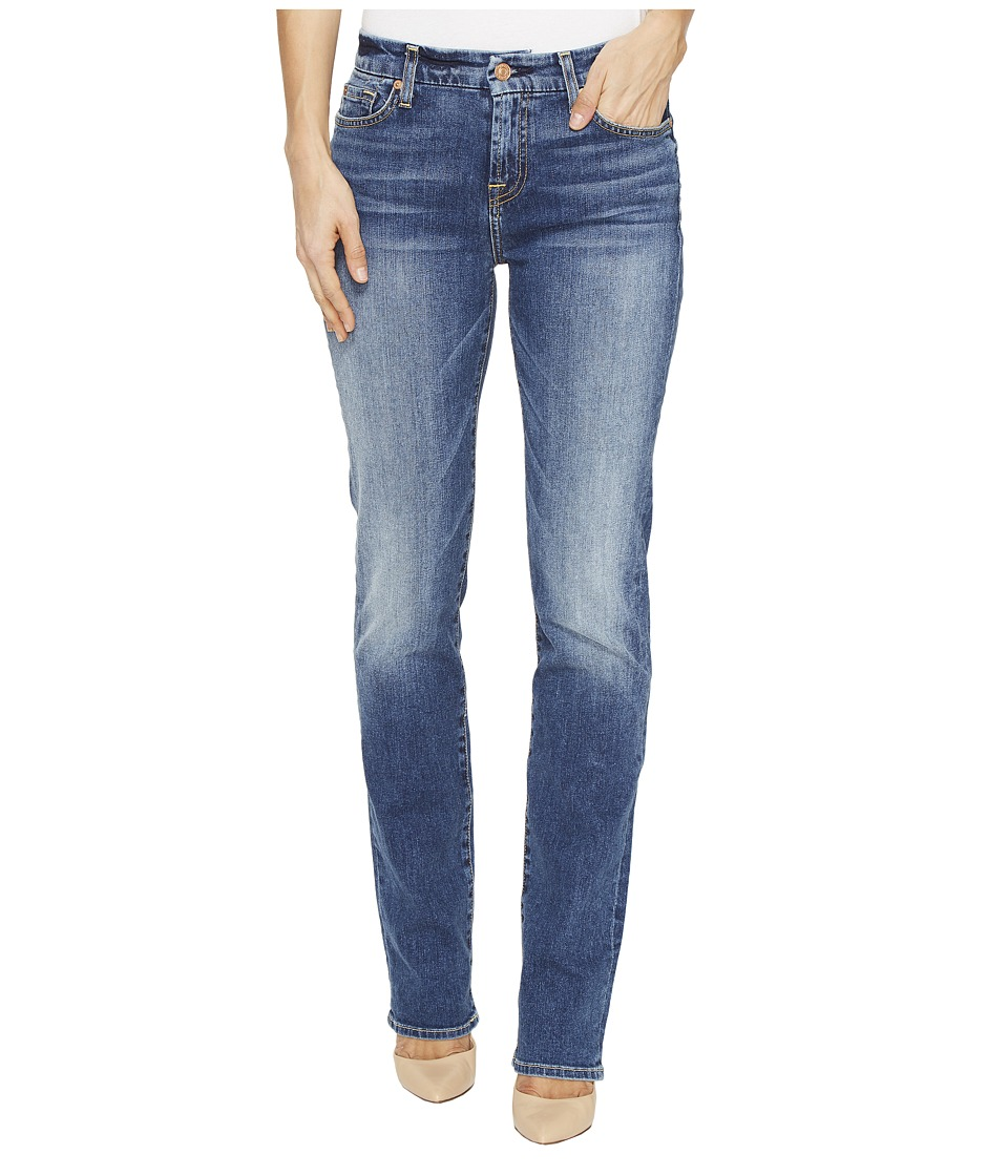 7 For All Mankind - Kimmie Straight in Serratoga Bay (Serratoga Bay) Women's Jeans