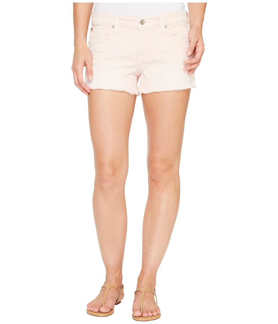 7 For All Mankind - Cut Off Shorts in Peony (Peony) Women's Shorts