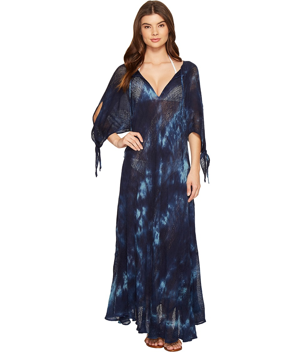 Blue Life - St. Bart's Caftan Cover-Up (Rain Tie-Dye) Women's Swimwear