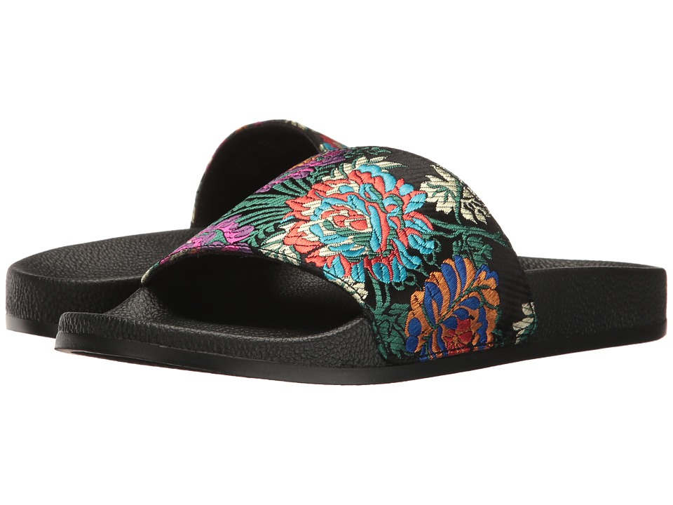 Steve Madden - Sunstruck (Black Multi) Women's Shoes