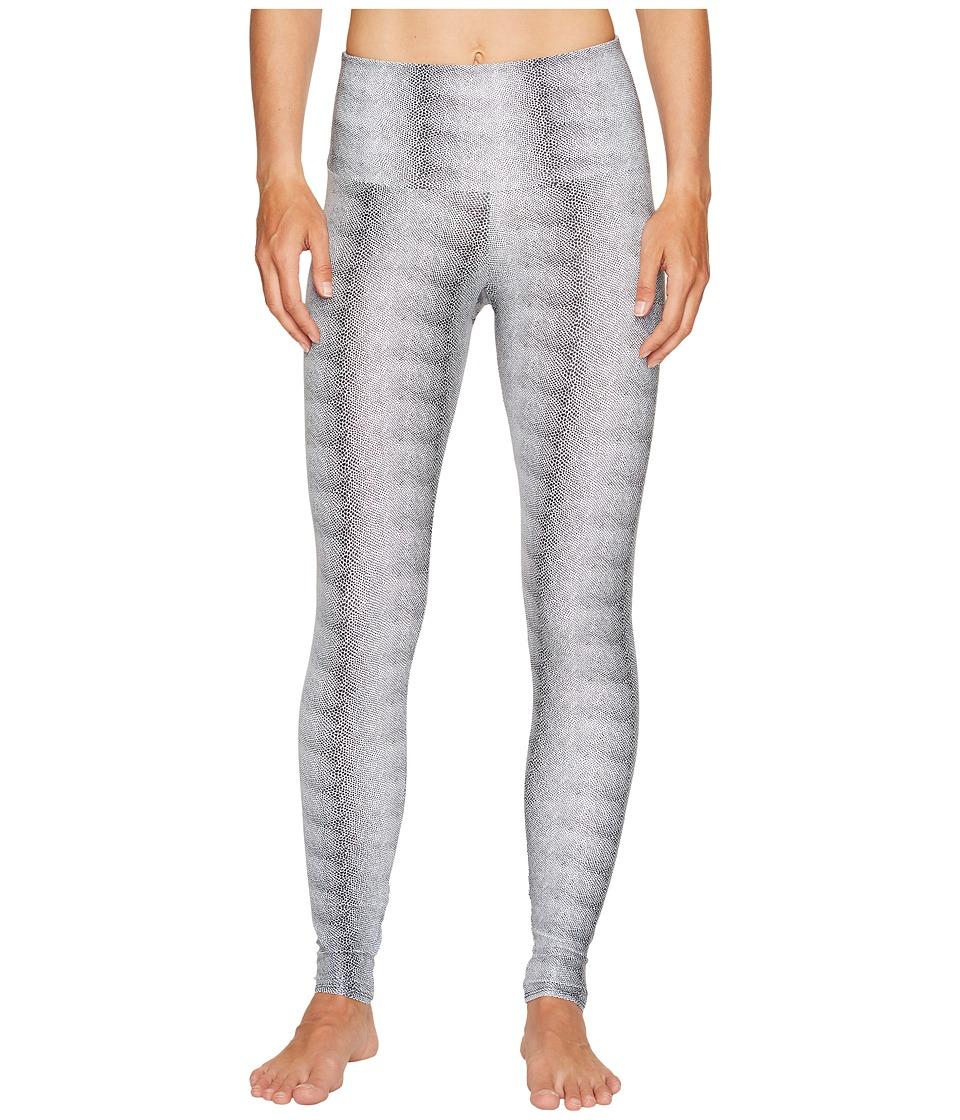 Onzie - High Rise Leggings (White Venom) Women's Casual Pants