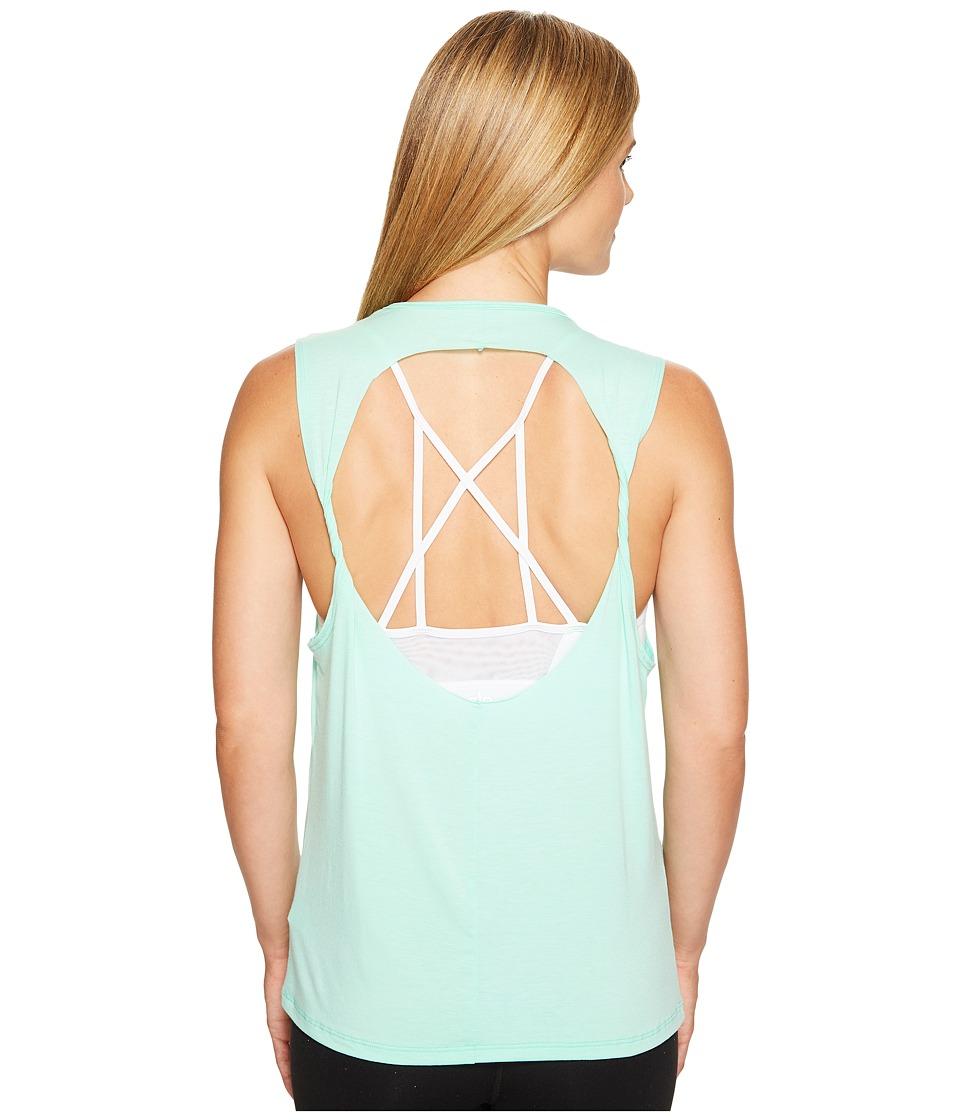 Onzie - Twist Back Top (Jade) Women's Clothing