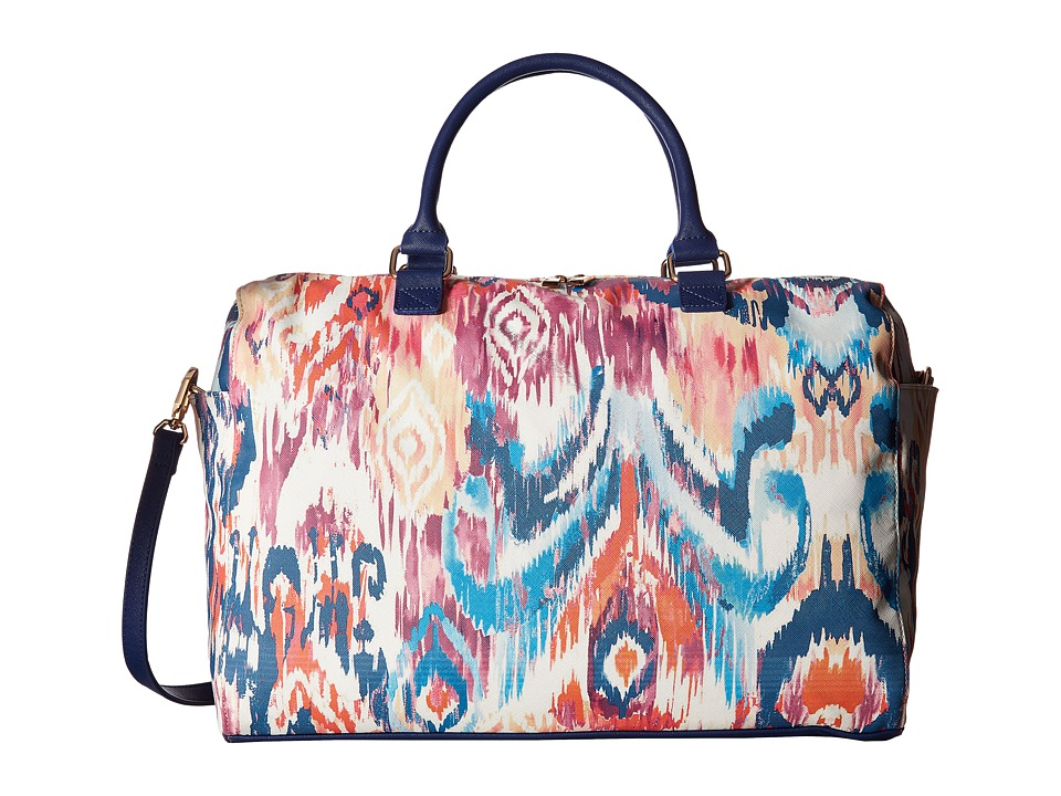 Deux Lux - Ikat Weekender (Navy) Weekender/Overnight Luggage