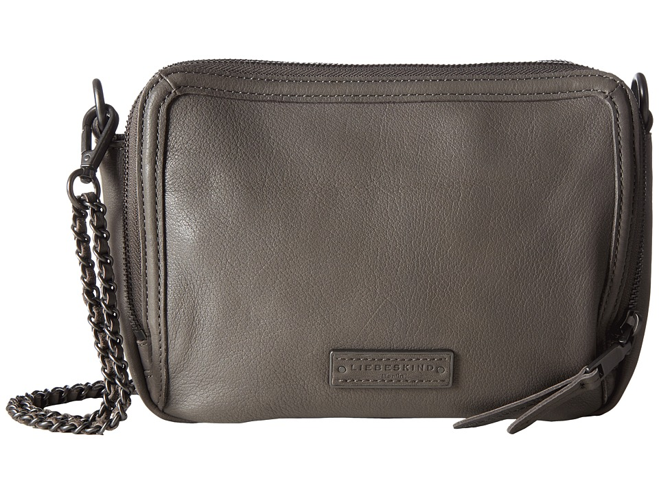 Liebeskind - Annett 3-Compartment Crossbody (French Grey) Cross Body Handbags