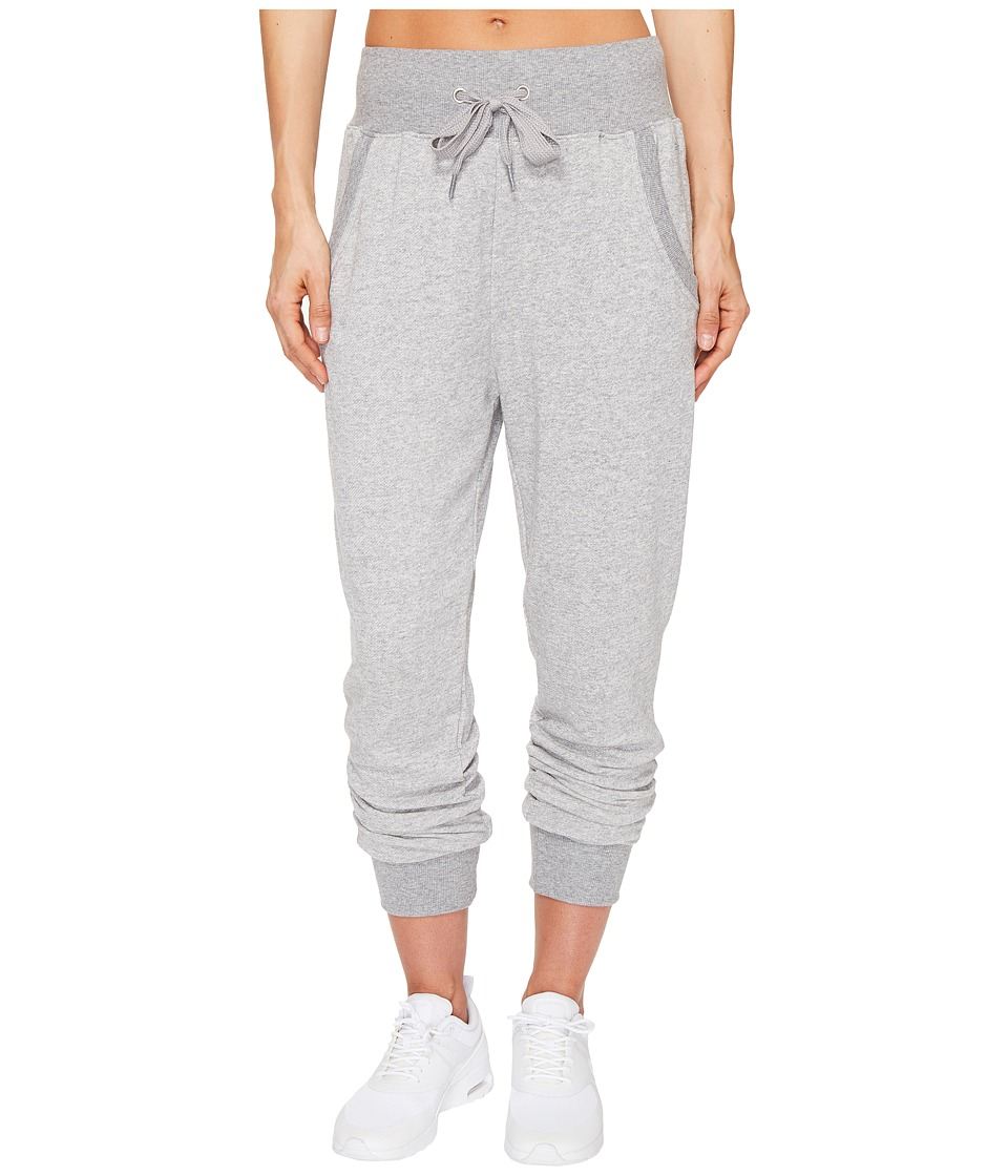 2(X)IST - Slouchy Jogger Pants (Light Grey Heather) Women's Casual Pants