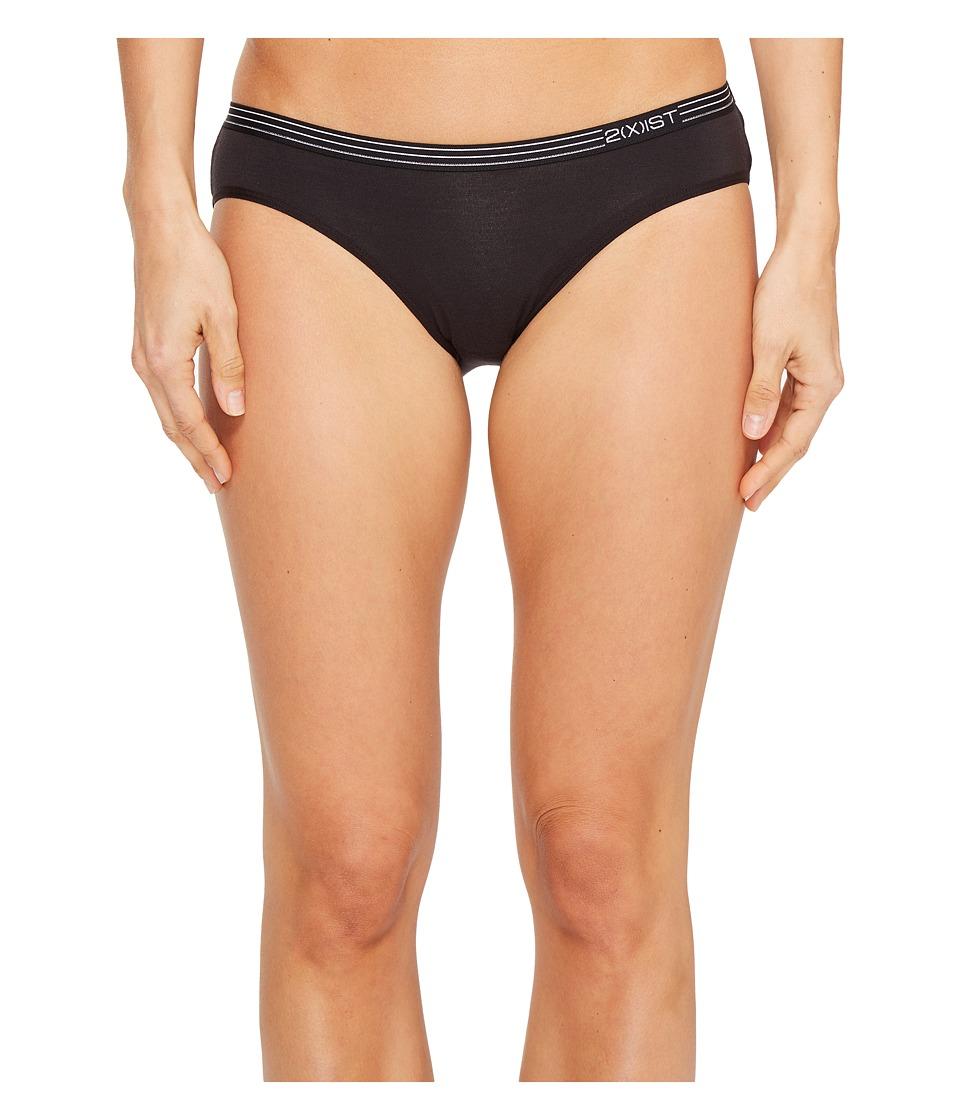 2(X)IST - Modal No Show Hipster (Black) Women's Underwear