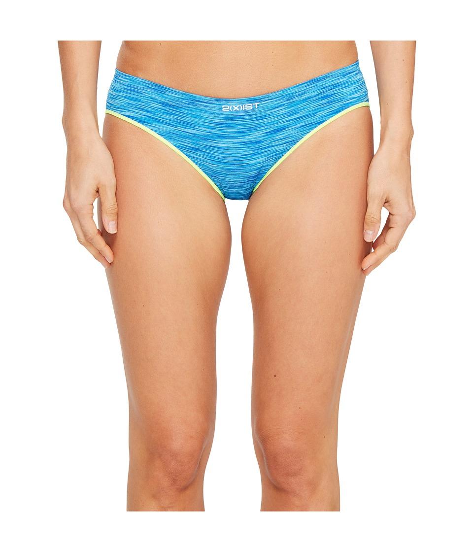 2(X)IST - Seamless Bikini (Atomic Blue) Women's Underwear