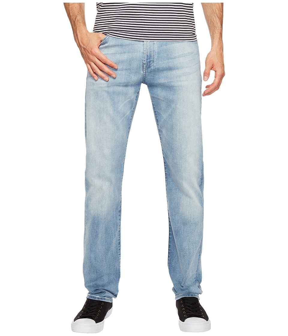 7 For All Mankind Slimmy w/ Clean Pocket in Sundrenched (Sundrenched) Men