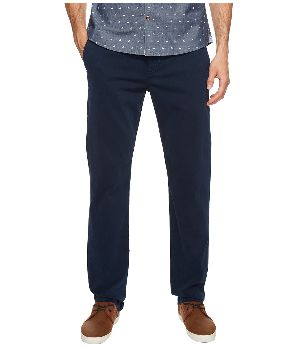 7 For All Mankind - The Chino in Navy (Navy) Men's Clothing
