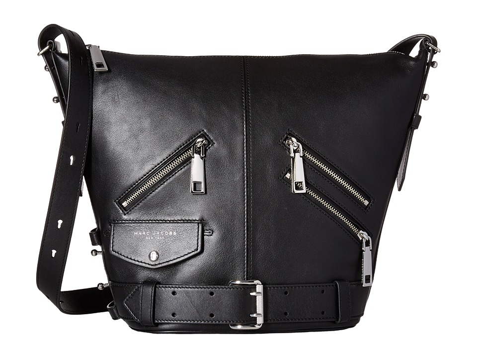 Marc Jacobs - The Sling Motorcycle (Black) Handbags