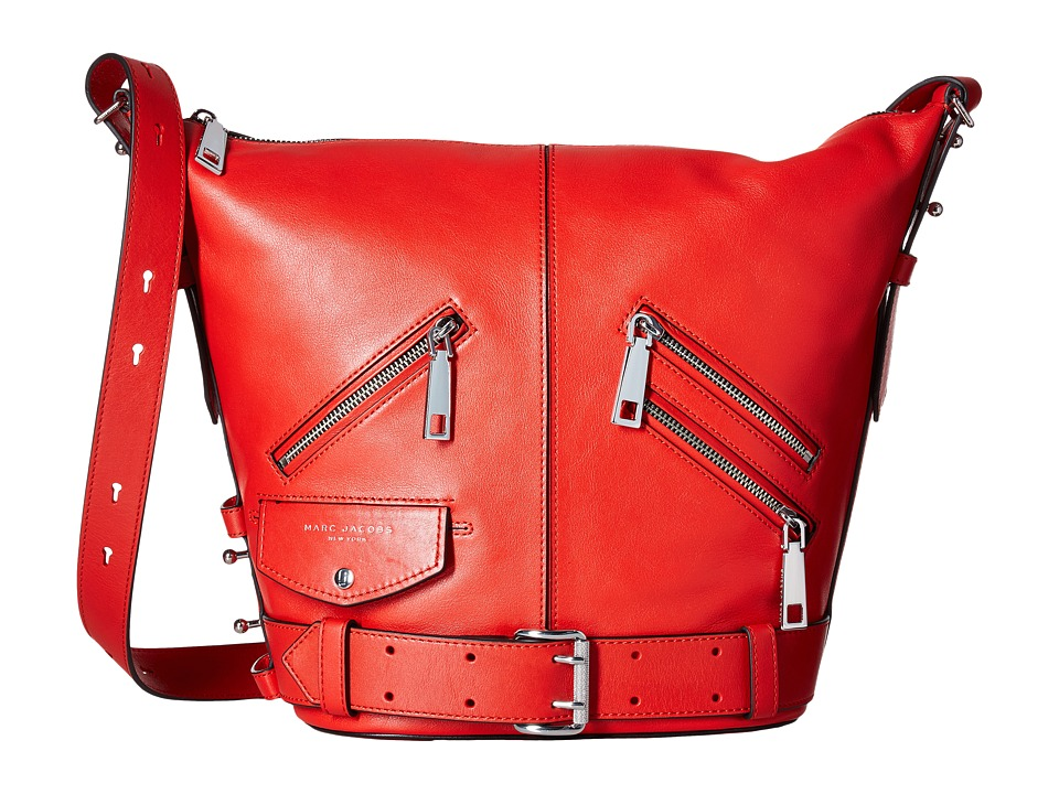 Marc Jacobs - The Sling Motorcycle (Lava Red) Handbags