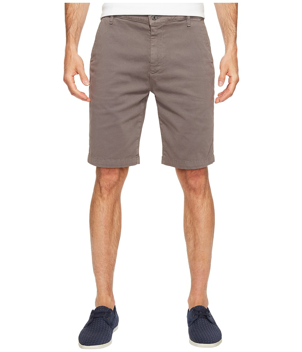 7 For All Mankind - Luxe Performance Sateen Chino Shorts (Shaded Stone) Men's Shorts