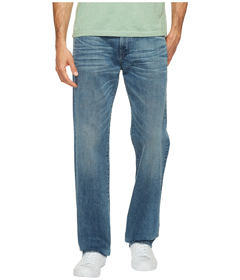 7 For All Mankind - Austyn Relaxed Straight in Bastille Sun (Bastille Sun) Men's Jeans