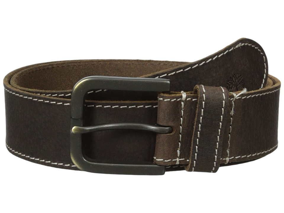 Timberland - 40mm Oily Milled Belt (Brown) Men's Belts