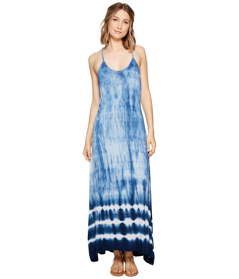 Billabong - Shore Side Dress (Cobalt) Women's Dress