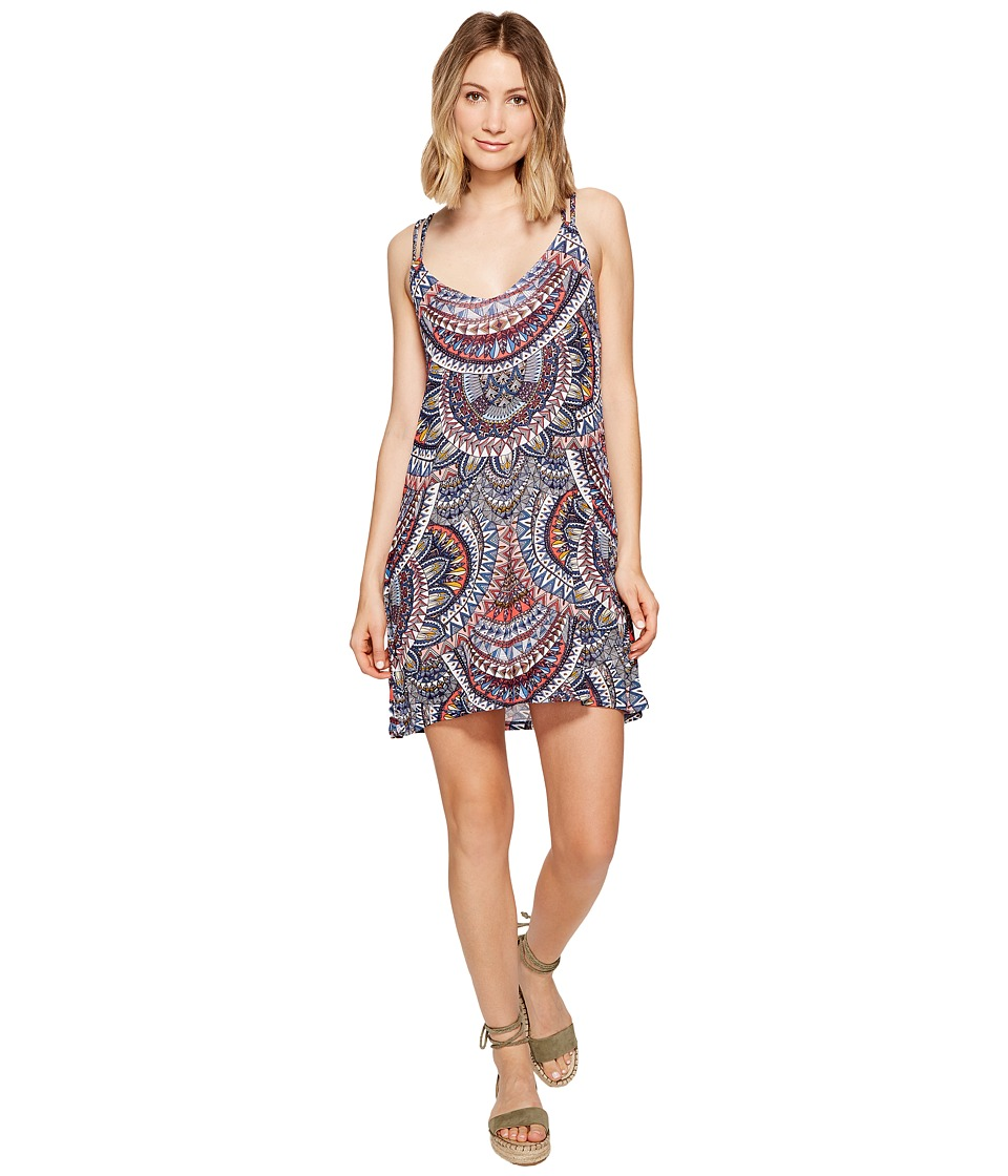Billabong - Back Street Dress (Multi) Women's Dress