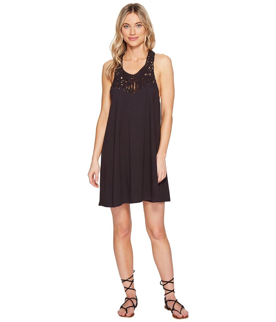 Billabong - Easy Show Dress (Off-Black) Women's Dress