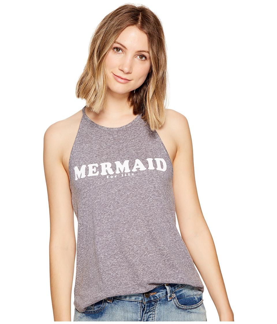 Billabong Mermaid for Life T-Shirt (Dark Athletic Grey) Women