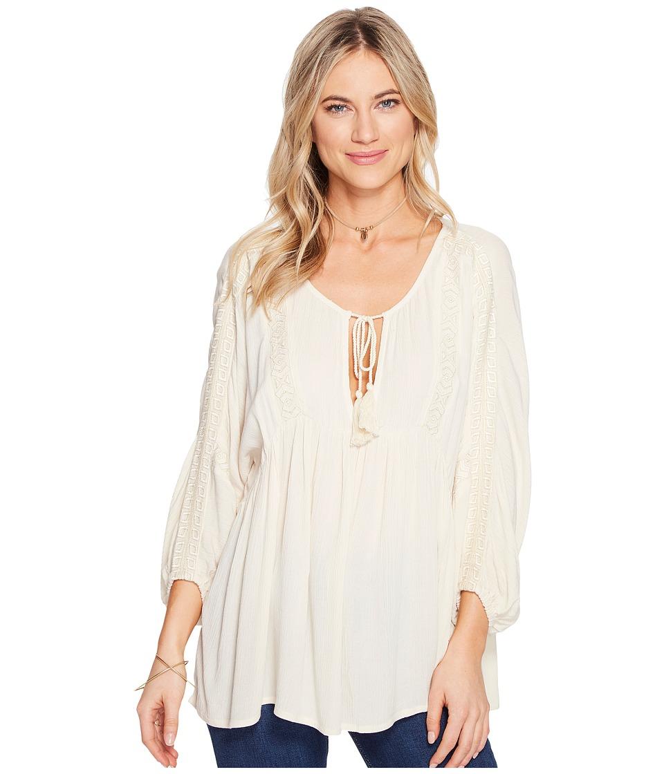 Billabong - Gold Dust Woven Top (White Cap) Women's Clothing