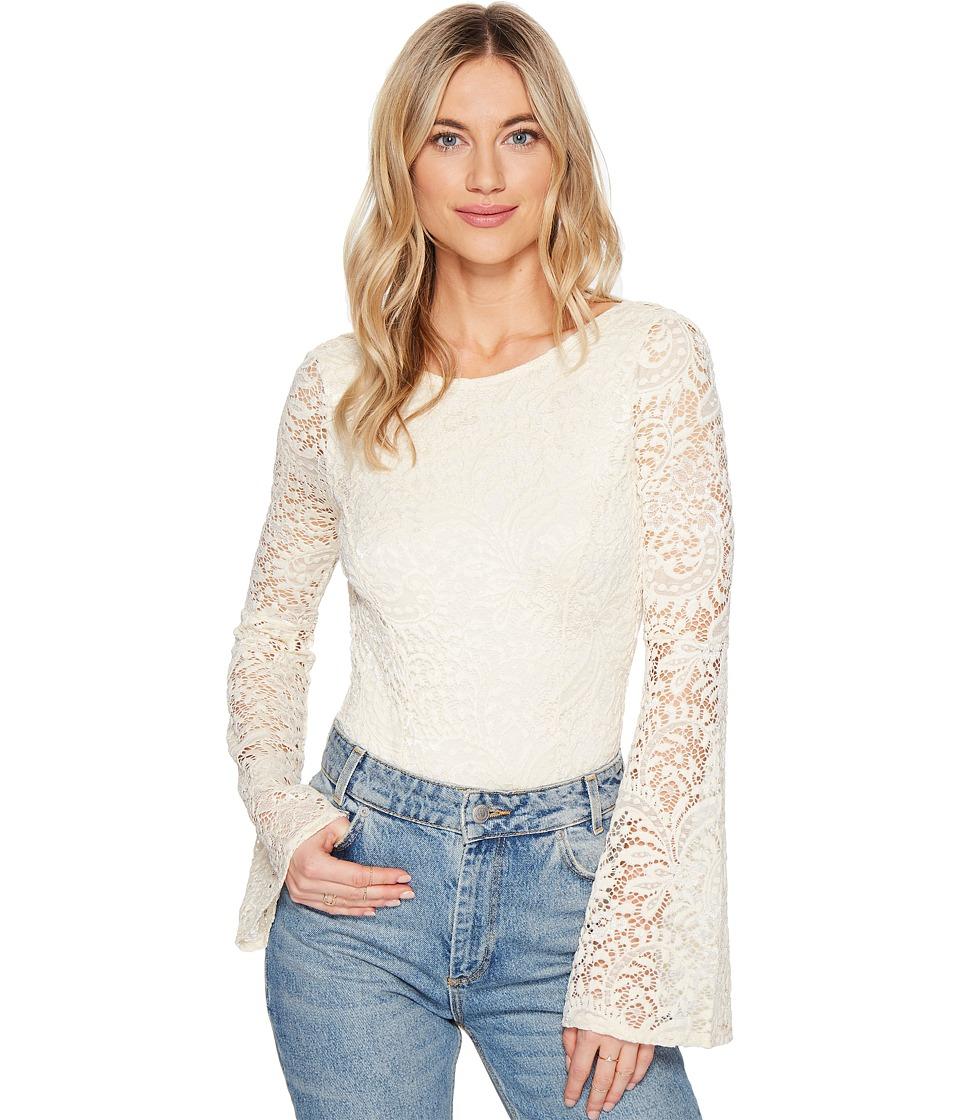 Billabong - Eternal Bliss Knit Bodysuit (White Cap) Women's Clothing