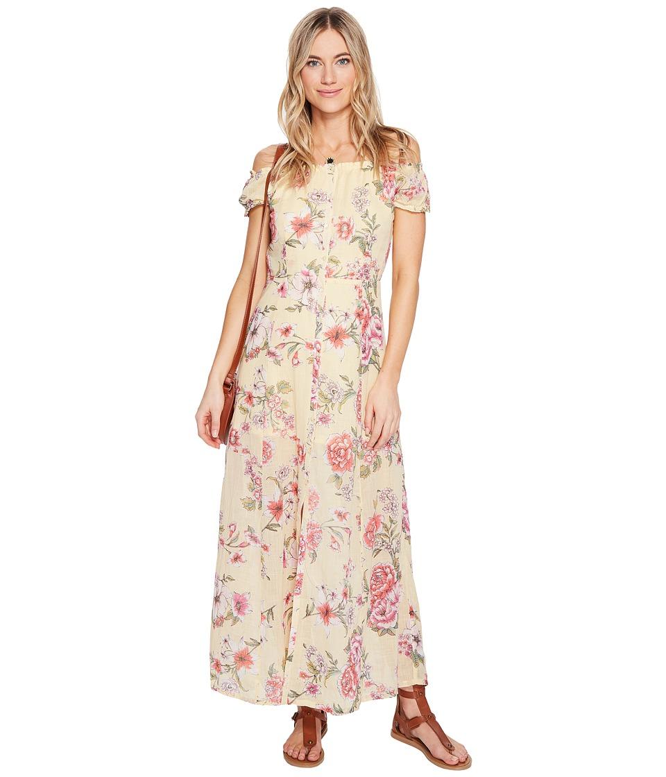 Billabong Linger Here Dress (Pina Colada) Women