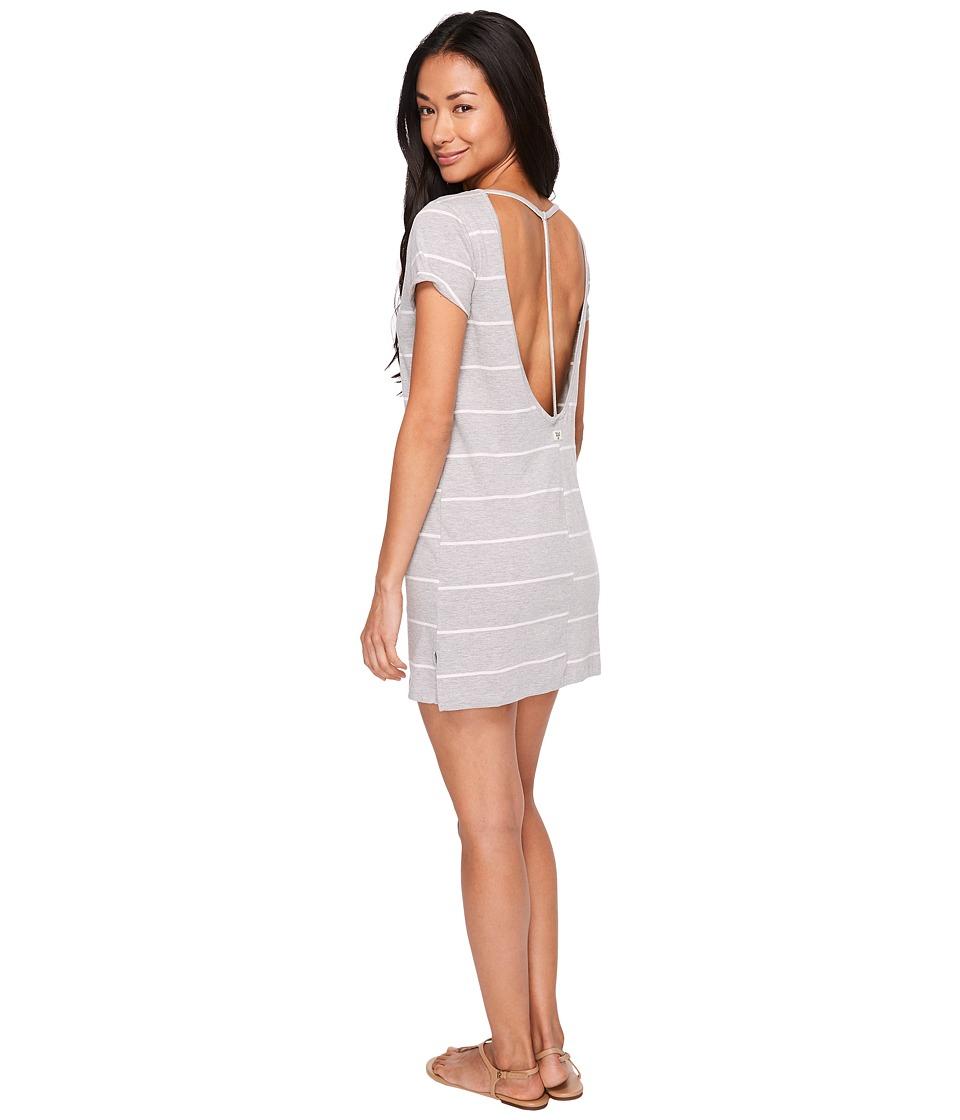 Billabong - Down Time Dress (Athletic Grey) Women's Dress