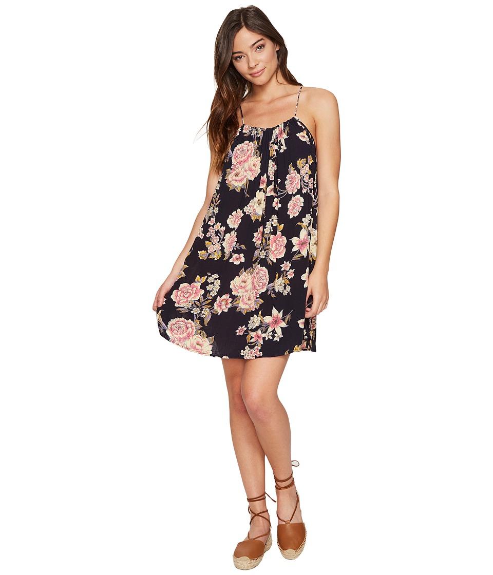 Billabong - Come Along Dress (Off-Black) Women's Dress
