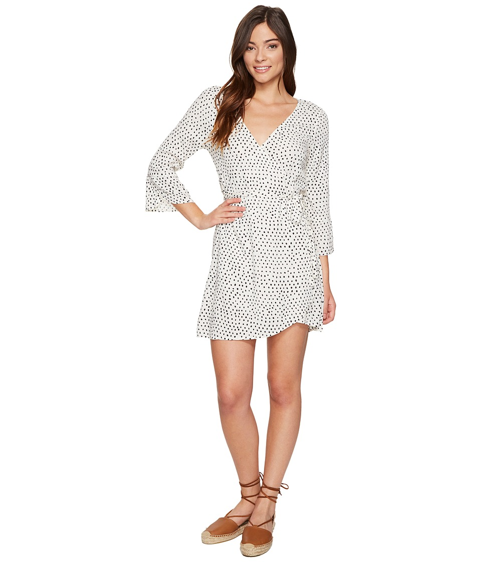 Billabong - Wrap It Up Dress (White Cap) Women's Dress