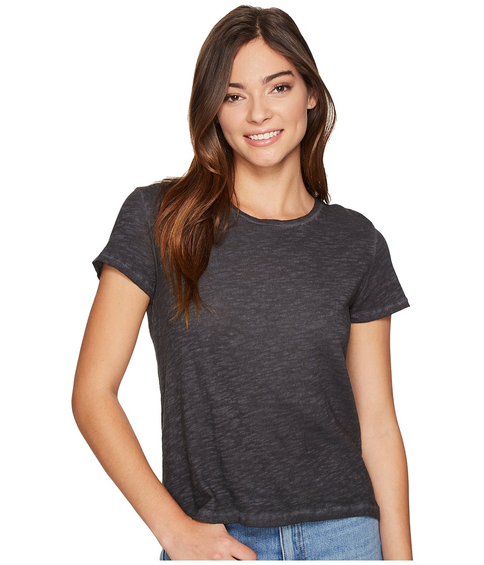 Billabong - So Glad Knit Top (Off-Black) Women's Clothing