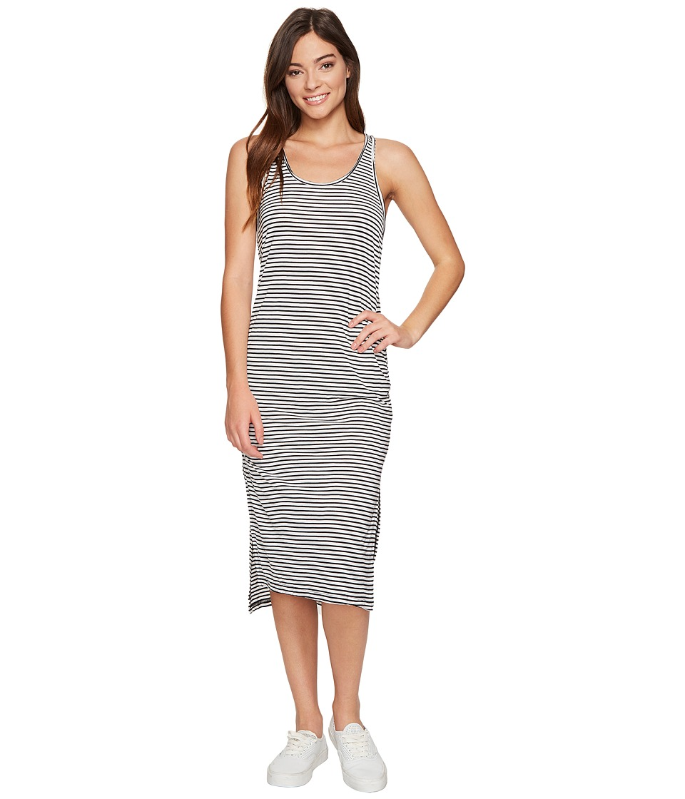 Billabong - Right Way Dress (Black/White) Women's Dress