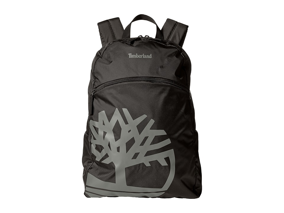 Timberland - Classic Nylon Backpack (Black) Backpack Bags