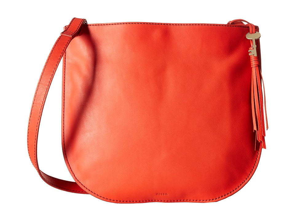 Fossil - Brooklyn Large Crossbody (Chili Pepper) Cross Body Handbags