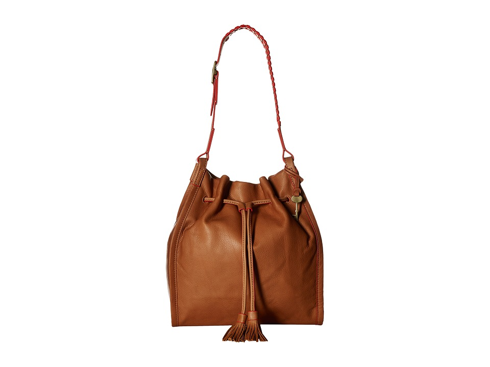 Fossil - Claire Drawstring (Saddle) Drawstring Handbags