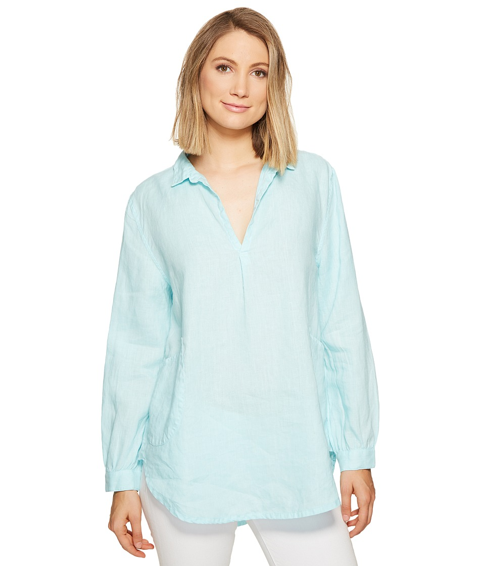 Fresh Produce - Seaside Tunic (Swimming Pool Blue) Women's Blouse