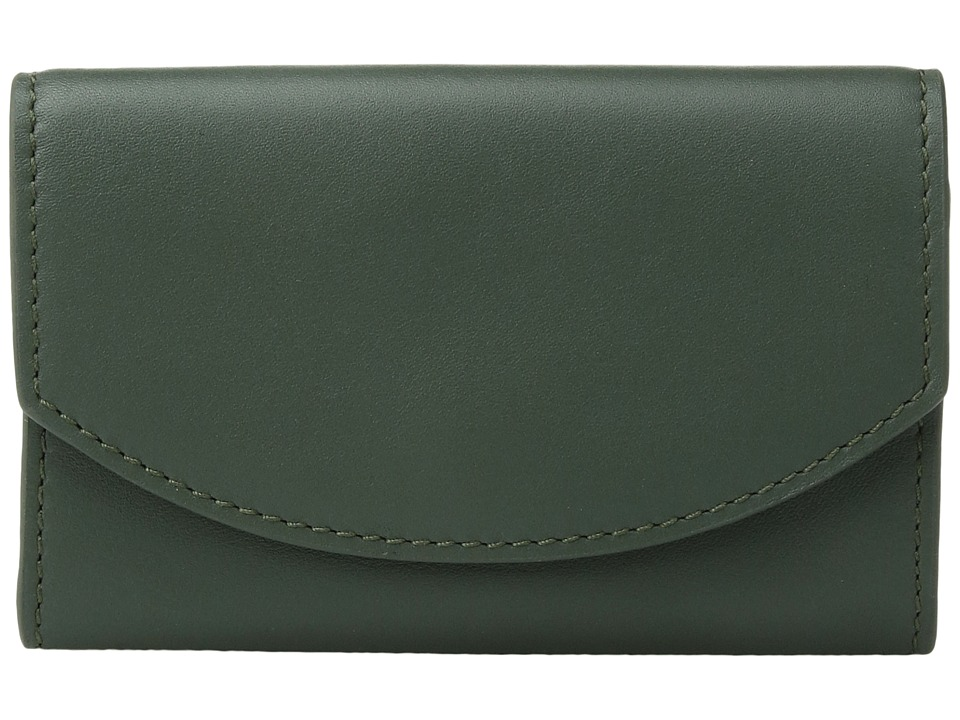 Skagen - Flap Card Case (Agave) Credit card Wallet