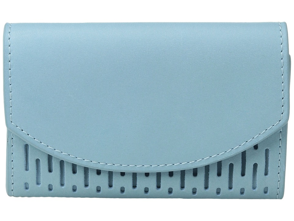 Skagen - Flap Card Case (Sky Blue) Credit card Wallet