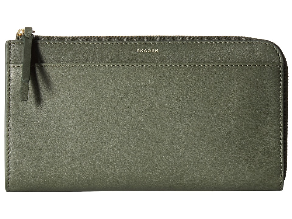 Skagen - Phone Wallet (Agave) Wallet Handbags