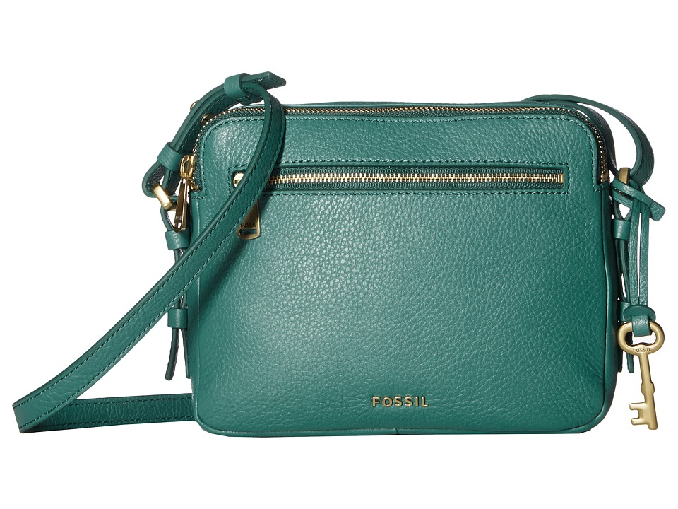 Fossil - Piper Toaster Crossbody (Teal Green) Cross Body Handbags