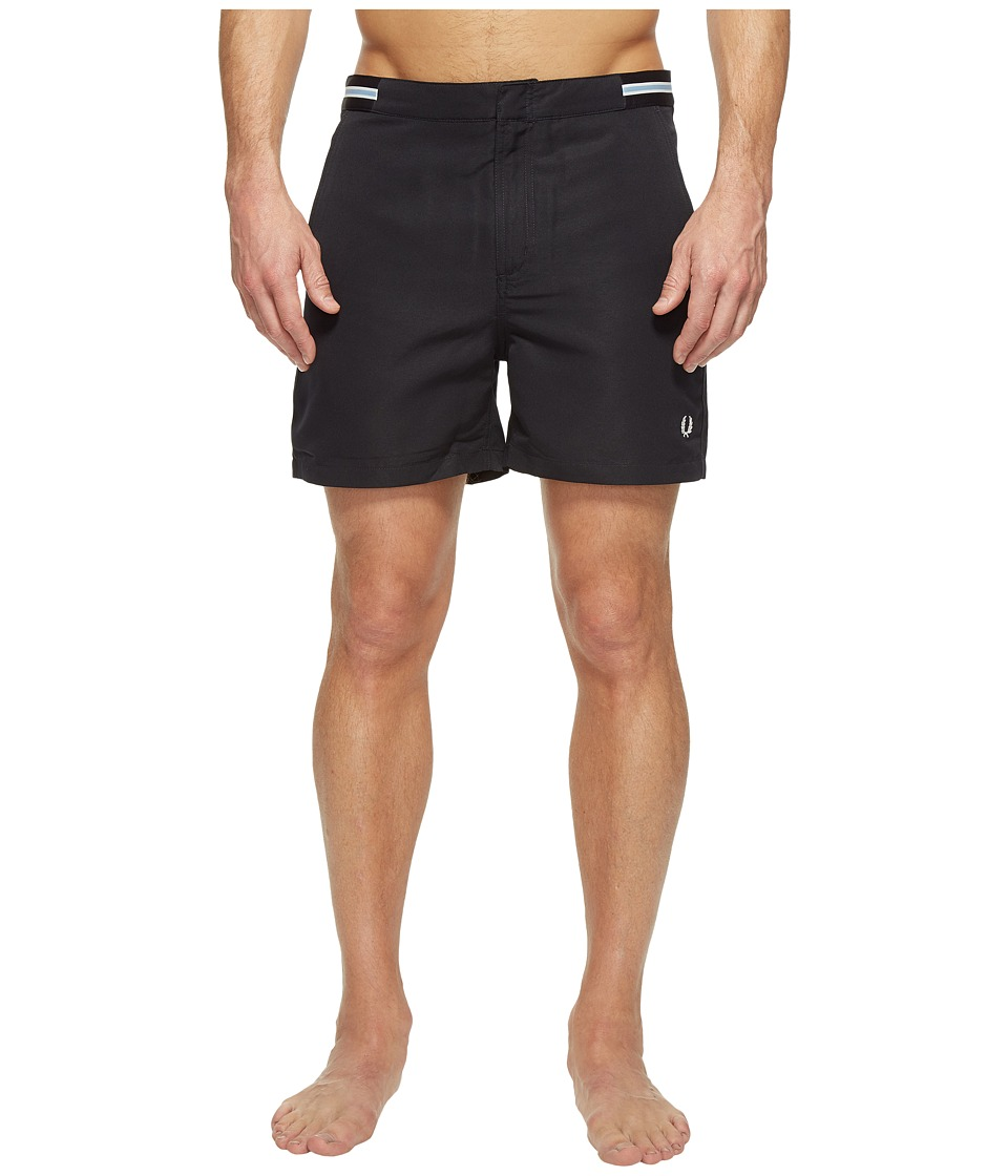 Fred Perry - Bomber Tape Swimshorts (Navy) Men's Swimwear