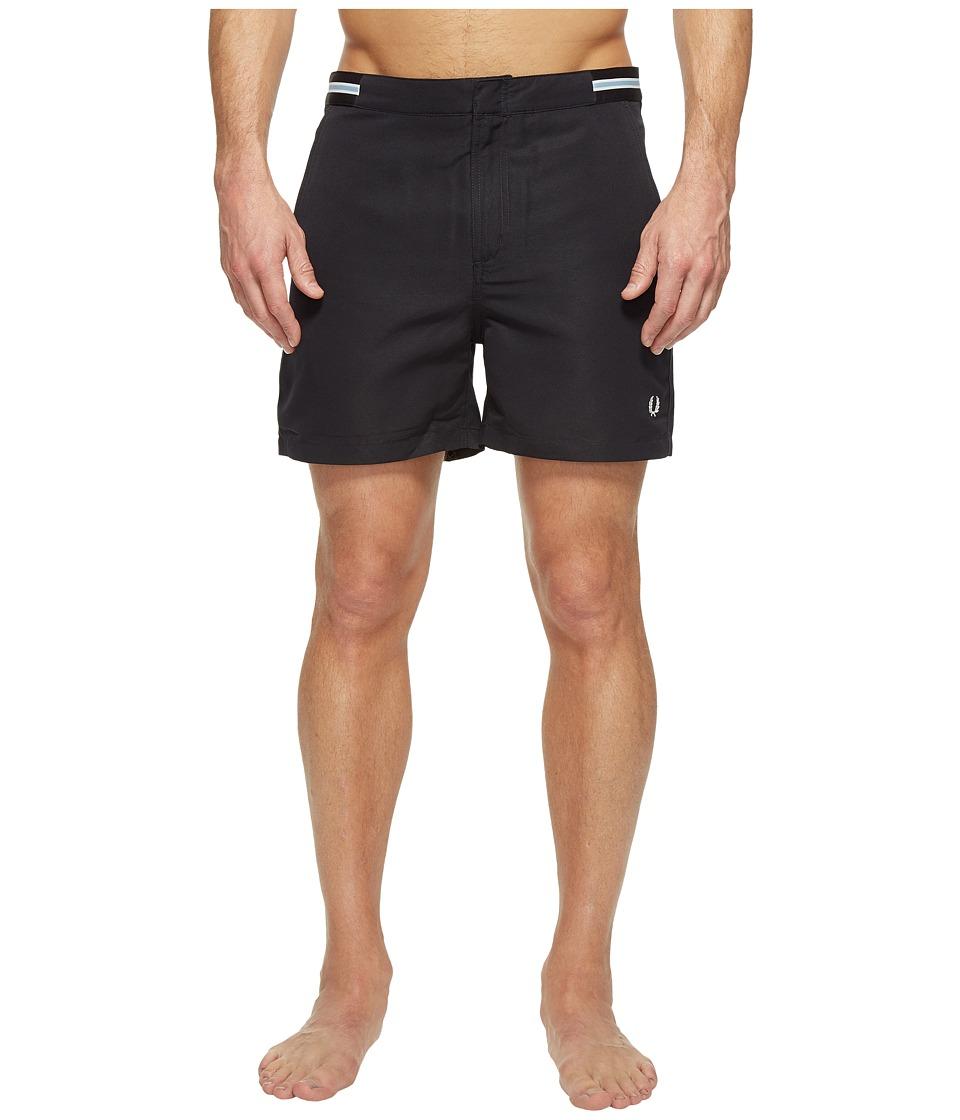 Fred Perry - Bomber Tape Swimshorts (Navy) Men's Swimwear