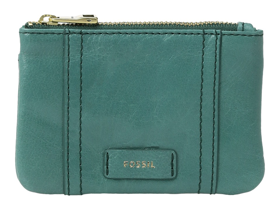 Fossil - Ellis Zip Coin (Teal Green) Coin Purse