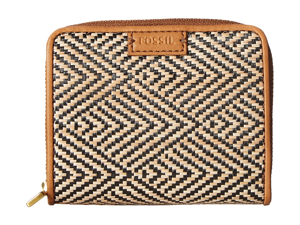 Fossil - Emma Mini Multi Wallet RFID (Natural) Wallet Handbags