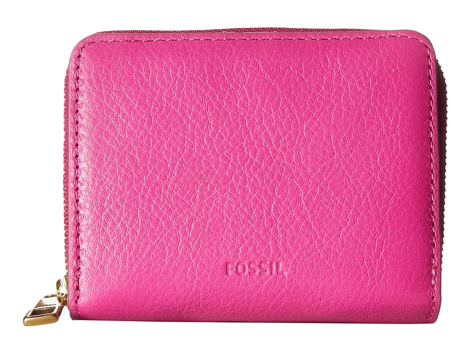 Fossil - Emma Mini Multi Wallet RFID (Hot Pink) Wallet Handbags